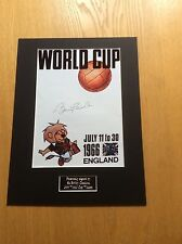 Bobby Charlton World Cup 1966 Hand Signed Photo Mount