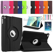 For Apple iPad Mini Air Air 2 Pro iPad 2 3 4 360° Rotate Leather Case Cover HOT