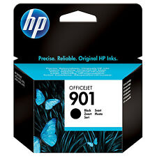 GENUINE HP HEWLETT PACKARD OFFICEJET BLACK INK CARTRIDGE HP 901 (CC653AE)
