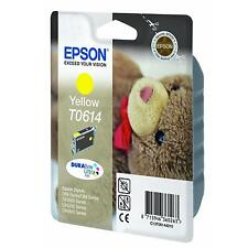EPSON TEDDY BEAR SERIES DURABRITE YELLOW INK CARTRIDGE T0614 C13T06144010