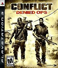 *** Playstation 3 PS3 Conflict: Denied Ops *COMPLETE* denyed deny