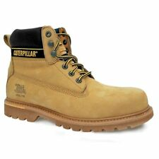 Caterpillar CAT Holton S3 Safety Boots - Honey
