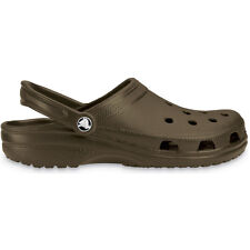 Crocs Mens Classic Unisex Croslite Breathable Strap Beach Clog Brown