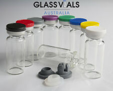 60 x 10ML GLASS VIALS - CHOOSE YOUR VIAL SETUP & COMBINATION