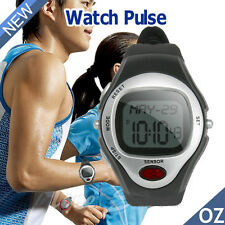 Pedometer Heart Rate Monitor Calories Counter sport Watch Fitness for Men Women