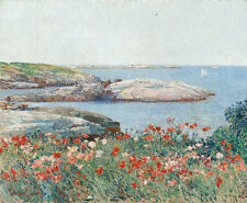 "Childe Hassam : ""Poppies, Isles of Shoals"" (1891) — Giclee Fine Art Print"