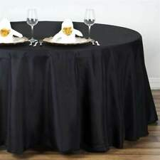 132 in. Polyester Seamless Tablecloth~Wedding~NEW