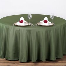 90 in. Polyester Seamless Tablecloth~Wedding~NEW