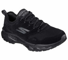 54131 Black Gowalk Skechers Shoes Men Sport suede panel Trail Mesh Light Cushion