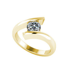 .50ct Solitaire Round Brilliant Cut Ring Certified Natural Diamond 18ct Gold 109