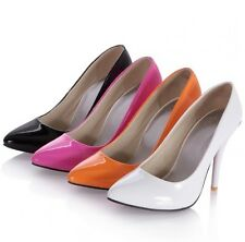 US All Size New Pointy Sexy Party Evening Thin High Heel Formal Lady Shoes s382