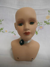 Porcelain Dolls Head With Shoulders - Knightsbridge Collection