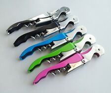 Corkscrew Wine Key Bottle Opener for Waiters and Bartenders with Foil Cutter
