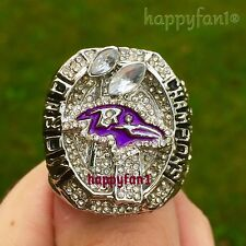 2012 Baltimore Ravens Championship Ring Flacco Super Bowl champions sz 11 men