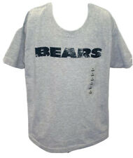 Chicago Bears Football Youth Bears Short Sleeve T-Shirt Gray New