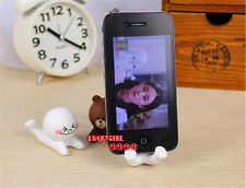 Wholesale 3D cute cartoon doll mobile phone holder adorable mount for i Phone