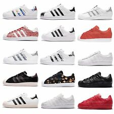 adidas Originals Superstar W Women Classic Casual Shoes Sneakers Trainers Pick 1