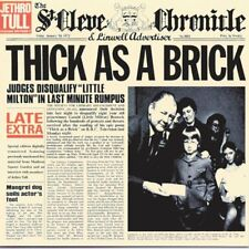 Jethro Tull - Thick As A Brick CD NEW