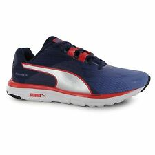 Puma Faas 500 V4 Running Shoes Womens Denim/Aura Run Fitness Trainers Sneakers