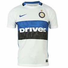 Nike Inter Milan Away Jersey 2015 2016 Juniors White/Blue Football Soccer