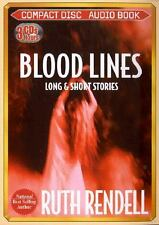 Blood Lines: Long and Short Stories by Ruth Rendell (2000, Abridged, Compact...