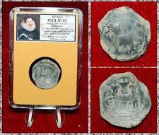 Coin King Of Spain PHILIP III 1598-1621 Castle And Rampant Lion 4 Maravedes