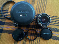 Olympus Zuiko Auto-W OM OM-System 28mm 3.5 Lens EXCELLENT! FAST FREE SHIPPING