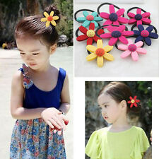Cozy1 X Children Sun Flower Hair Rope Elastic Fashion Baby Girls Hair Band WB