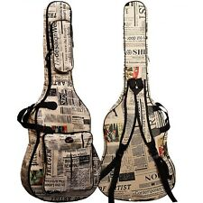 "For 41"" Guitar Folk Acoustic Guitar Gig Bag Soft Case Strap Padded Waterproof"