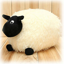 Plush Toys Stuffed Soft Sheep Character Kids Baby Toy Gift Doll White/Gray LU