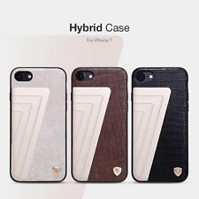 For iPhone 7 Nillkin Luxury Unique Elegant Hybrid Slim Leather Back Case Cover