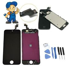 For iPhone 5S LCD Display Touch Screen Digitizer Replacement Repair Tools Black