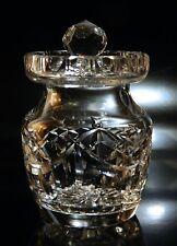 Waterford Crystal HONEY Jar and Lid, Giftware, Excellent Condition, No Reserve!