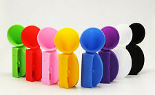 Candy Color Audio Dock Amplifier Speaker Silicone Horn Stand For iPhone 6 Plus