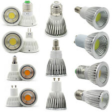 E27 E14 GU10 MR16 COB LED Bulb Spot Light 6W 9W 12W 15W Cool/Warm/Natural White