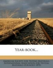 Year-Book... by American Society for Testing Materials