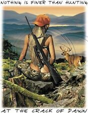 Dixie Sleeveless Denim Vest Nothing Finer Than Hunting At The Crack Of Dawn Deer