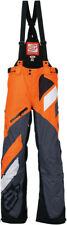 Arctiva Mens Orange Comp RR Non-Insulated Shell Snowmobile Bibs