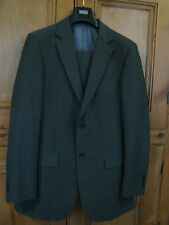Marks and Spencer Grey Suit 38 Chest Long Tousers 34 Waist 31 Leg  - Washable