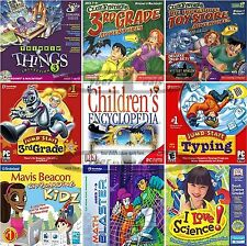 Age 7+ 3rd THIRD GRADE LEARNING GAMES Windows PC Vista 7 8 10 NEW Sealed