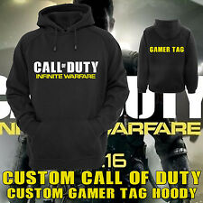 Call Of Duty COD Infinite Warfare Custom Personalised with YOUR GAMER TAG Hoodie