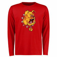 Ferris State Bulldogs Red Big & Tall Classic Primary Long Sleeve T-Shirt