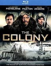 The Colony Blu Ray With Slipcover -Laurence Fishburne