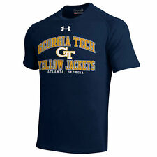 Under Armour Georgia Tech Yellow Jackets Navy Blue School Mascot Tech T-Shirt