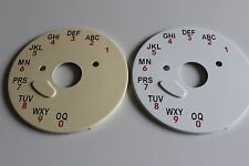 BT/GPO A-B-C DIAL BACK PLATE FOR 706, 711, 741, 746 & 776 TELEPHONES