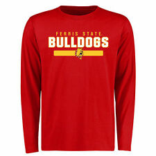 Ferris State Bulldogs Red Team Strong Long Sleeve T-Shirt