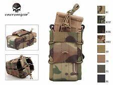 Emerson Double Modular Rifle Magazine Pouch Airsoft Molle Magazine Pouch Carrier