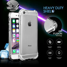 for Apple iPhone 7 Plus [Liquid Crystal] Clear Shockproof Bumper Hard Case Cover