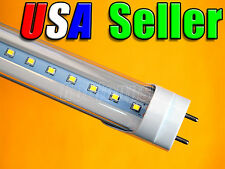 """Lot of 6 - 110V AC T8 48"""" 18W Pure White LED Fluorescent Replacement Tube Light"""