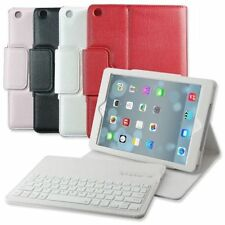 New Leather Case+Bluetooth Keyboard For Apple iPad Air mini 1/2/3/4 With Stand